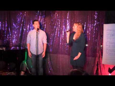 Erin Cronican and Tony Imgrund sing,
