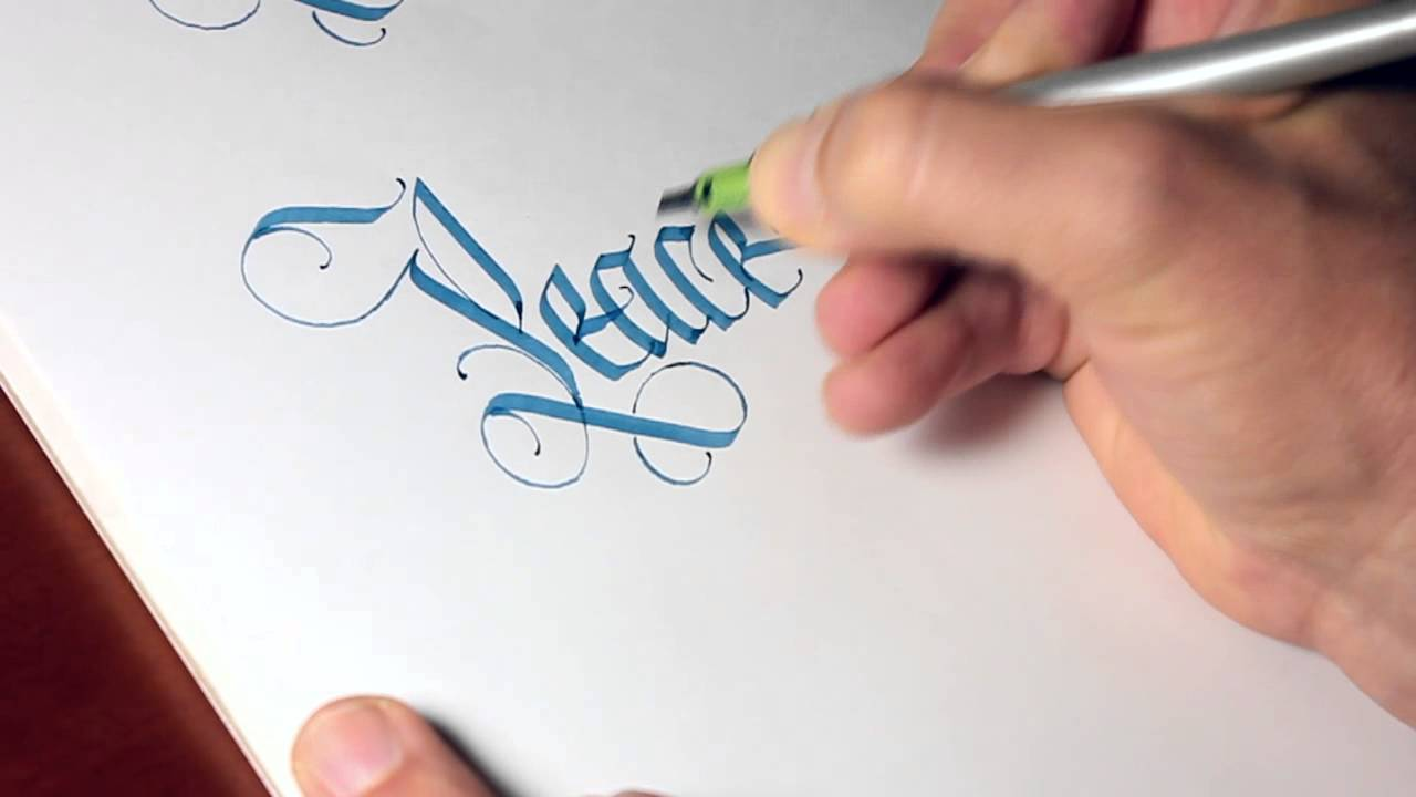 how to use pilot parallel pen