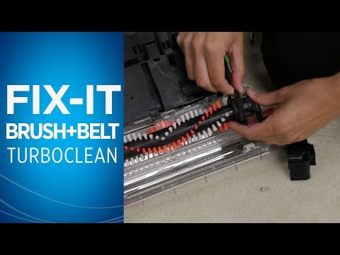 How to clean bissell carpet cleaner brushes