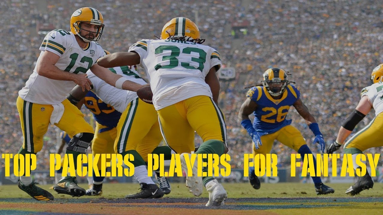 100% authentic 89bfe a06f0 Best Packers Fantasy Players for 2019