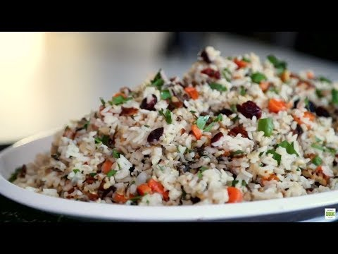 Home-Style Brown Grain Pilaf