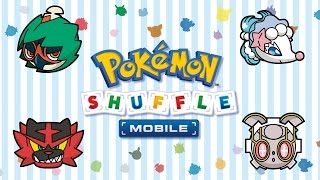 UK: Make Way for Alolan Pokémon in Pokémon Shuffle!