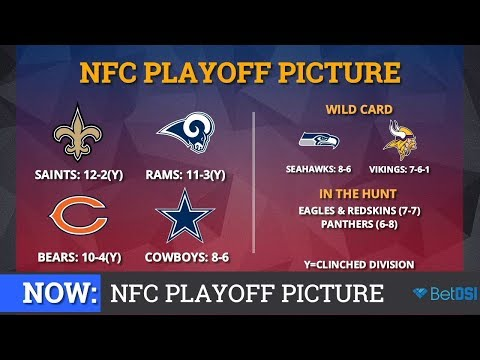 NFL Playoff Picture: NFC Clinching Scenarios And Standings Entering Week 16 of 2018