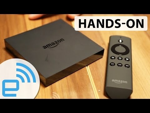 Amazon Fire TV hands-on | Engadget