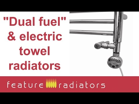 "How to choose an electric or ""dual fuel"" towel rail"