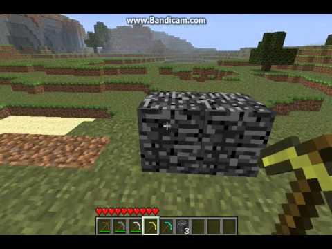 Minecraft : Breakable Bedrock Mod [1.7.3] - YouTube
