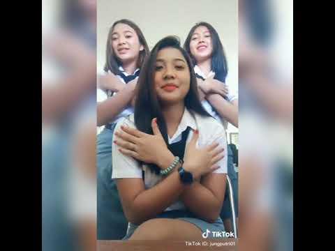 Viral Tiktok Entah Apa Yang Merasukimu Versi Anak Sma Cantik Dan Wong Ndeso Dj Salah Apa Aku Youtube