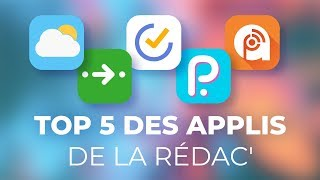 TOP 5 APPLICATIONS indispensables (vraiment) - FrAndroid