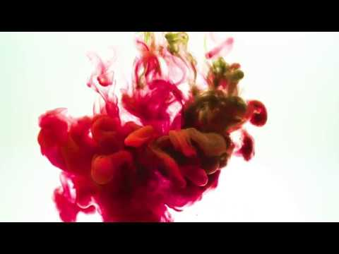 4K ink In Water, Drop paint multi color in Slow Motion video background  effect - Stock video footage