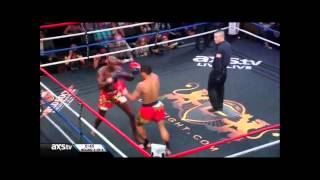 Yodsanklai Fairtex vs Chike Lindsay (Lion Fight 10)