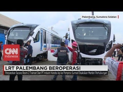 LRT Palembang Beroperasi!