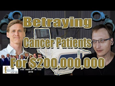 RoundUp Attorney BETRAYS Cancer Patients, ARRESTED For Extortion