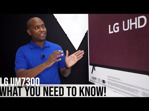 2019 LG 50UM7300 Smart AI ThinQ 4K TV Unboxing Plus Google And Alexa Setup