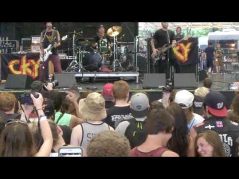 CKY - Rio Bravo (Vans Warped Tour 2017, ATL)