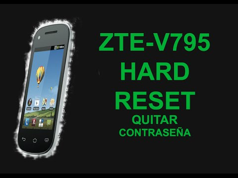 recommend zte v795 hard reset great trade