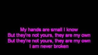 hands by jewel lyrics