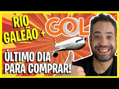 ÚLTIMO DIA! GOL RIO DE JANEIRO GALEÃO PARCERIA COM PASSAGENS A PARTIR DE R$125!