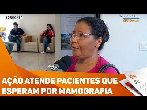 Ação atende pacientes que esperam por mamografia - TV SOROCABA/SBT