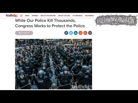 Congress Pushes Police Brutality Law...That Benefits Police