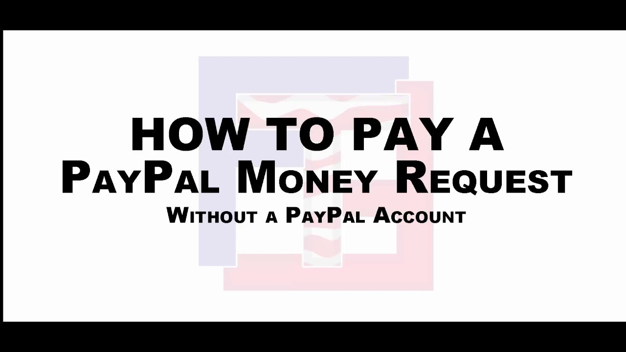 how to pay money into a paypal account