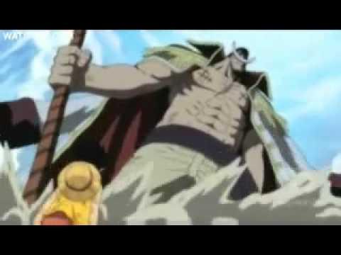 Luffy and Whitebeard