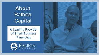 Value Proposition | Top Equipment Leasing Company | Balboa Capital