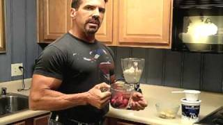 Pre-Workout Bodybuilding Smoothie