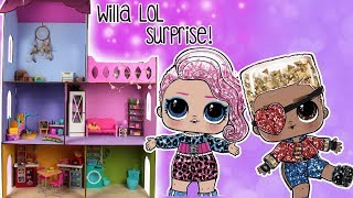Topik i Topcia 🏡 WILLA LOL Surprise! Domek dla lalek DIY 😍