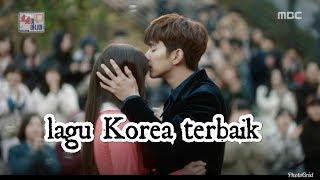 Lagu Korea terbaru romantis sedih  ( standing here ) lirik