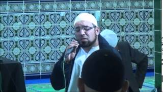 Hafiz Rafaqat Hussain Reciting Naat & Darood-E-Taj in the presence of Allama Raza Saqib Mustafai