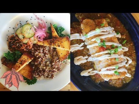 What I Eat In A Day As A VEGAN | Christmas Vacation Denver & Atlanta