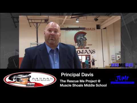 Principal Davis || Muscle Shoals Middle School