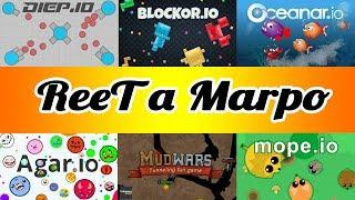 [CZ] ReeTův Stream #58 - Hrajeme IO Hry s Marpem!  - #Chill