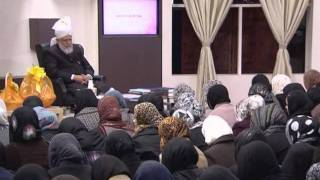 Gulshan-e-Waqf-e-Nau Lajna Class: 22nd January 2012 (Urdu)