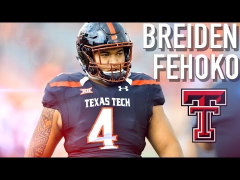 Image result for Breiden fehoko Texas Tech Photos