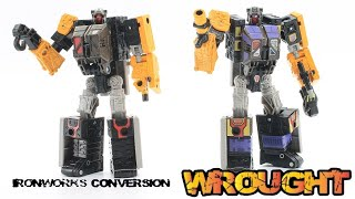 Stop Motion Review 113b - Ironworks Conversion Set - Decepticon Wrought