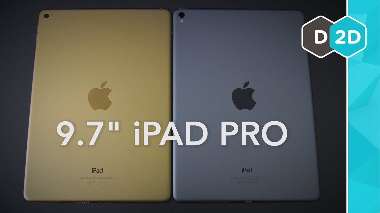 9 7 Ipad Pro Vs Ipad Air 2 Worth The 150 Youtube