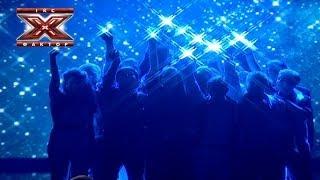Общая песня Scorpions Wind Of Change Второй прямой эфир Х фактор 4 02 11 2013