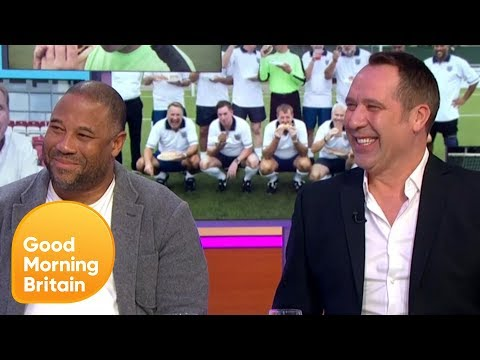 John Barnes and David Seaman's Mission With Harry Redknapp to Get Into Shape | Good Morning Britain
