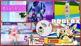 IMAGINATION EVENT - Roblox Make a Cake! Getting Event Items! Secret Badges! Loud Warning!