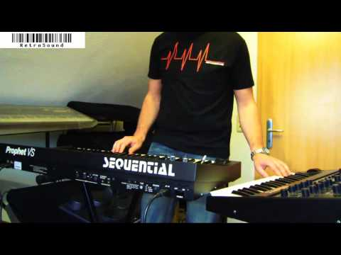 """Sequential Prophet VS & Pro-One Synthesizer jam """"Sleepless"""""""