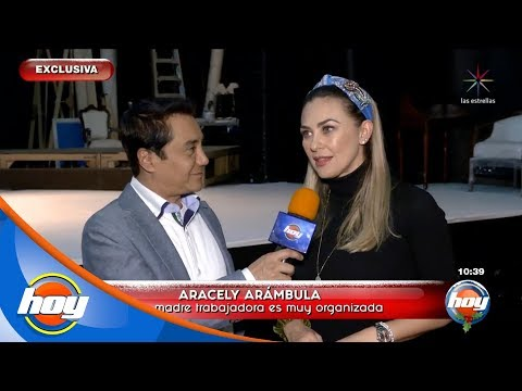 Aracely Arámbula confirma nuevo romance   Hoy