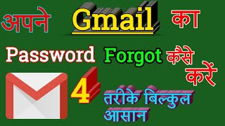 #Gmail Id Password forgot kre