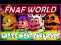 "FNAF WORLD ALL CHARACTERS | ""FNAF WORLD ALL GIRLS"" | FNAF WORLD CHARACTERS"
