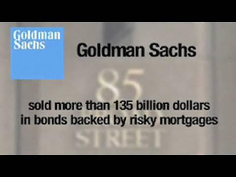 How Goldman secretly bet on the U.S. housing crash