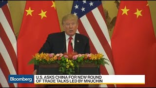 U.S. Asks China for new Round of Trade Talks