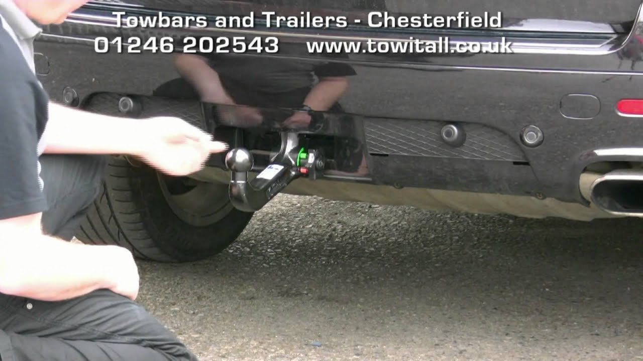 volkswagen tiguan wiring diagram bohr model towbar video - vw touareg westfalia detachable youtube