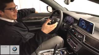 The BEST NEW FEATURE?? BMW 750i Gesture Control!