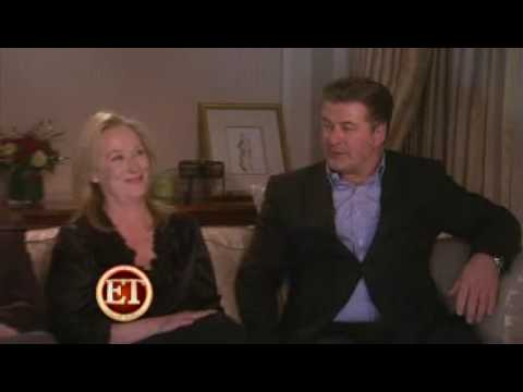 Meryl Streep, Alec Baldwin & Steve Martin - ET - It's Complicated Interview