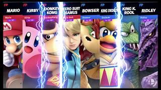 Super Smash Bros Ultimate Amiibo Fights Request #1341 Heroes vs Villans #9